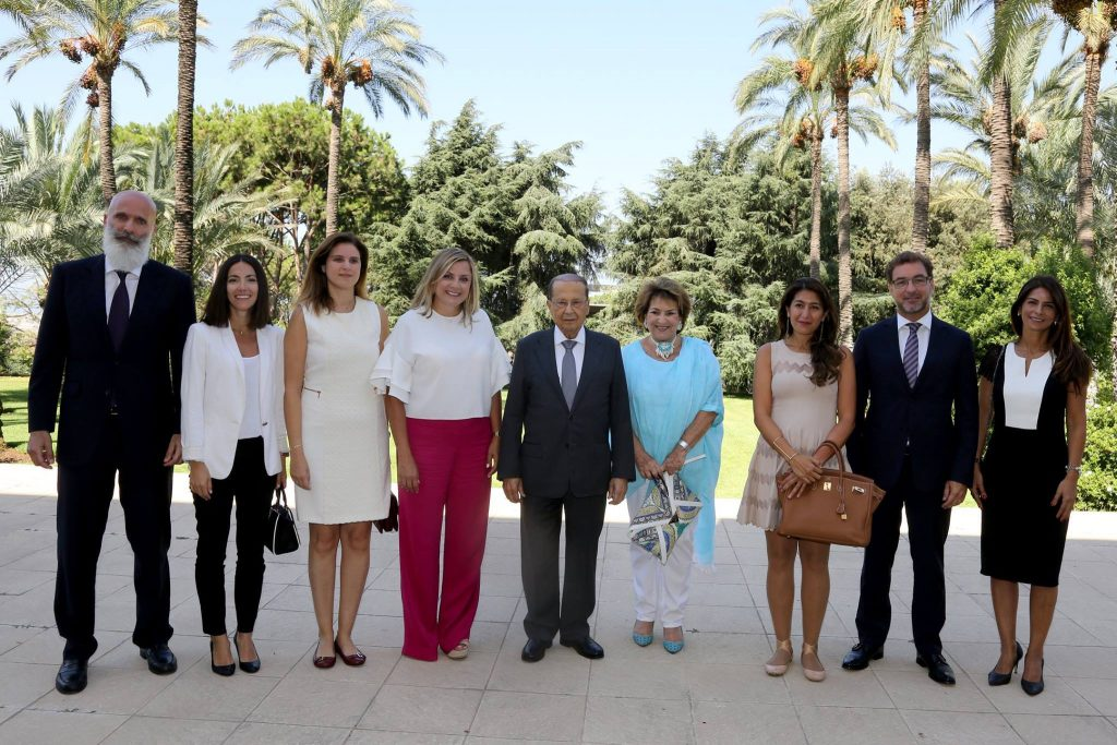 Animals Lebanon with President Michel Aoun