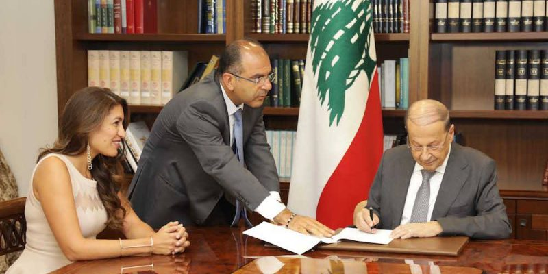 President Aoun signs Animal Protection and Welfare Law into effect
