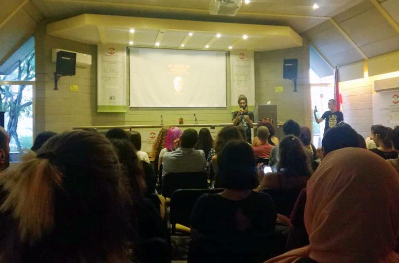 Vegan outreach workshop - Seb Alex - lebanese vegans