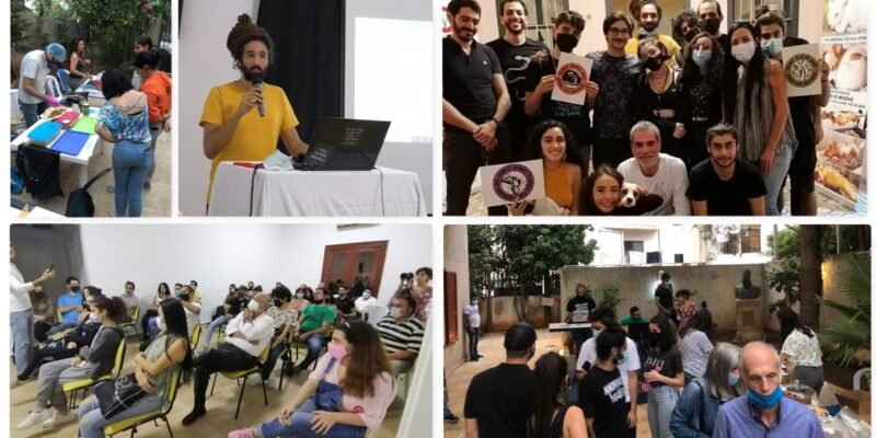 Lebanese Vegans celebrates the opening of Social Hub on World Vegan Day