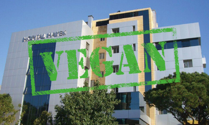 Lebanon hosts the very first vegan hospital in the world!