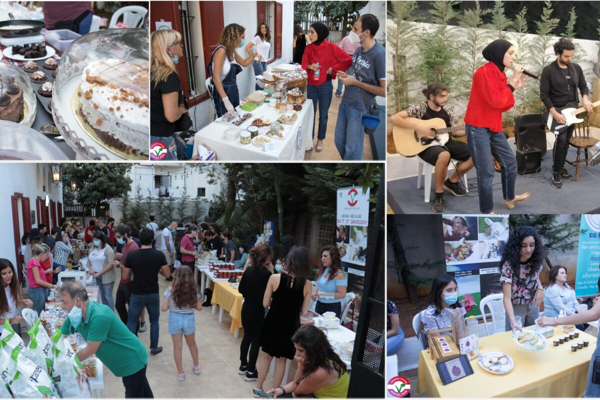 events hosted by lebanese veggans